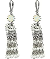 Marchesa - Lighter Than Air Tassel Linear Earrings