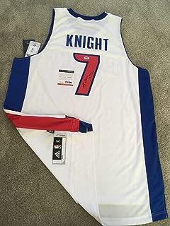 Brandon Knight Autographed Signed Memorabilia Pistons Official Swingman Jersey Suns PSA/DNA Coa