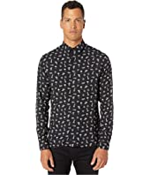 The Kooples - Mixed Print Button Down Shirt