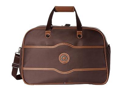 Delsey Chatelet Soft Air Weekender Duffel (Chocolate) Duffel Bags