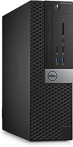 Dell YRY3H OptiPlex 3040 SFF Small Desktop (Intel Core i5-6500, 8GB 1600MHz DDR3L RAM, 256GB SSD, Windows 10 Pro, Black) (Renewed)