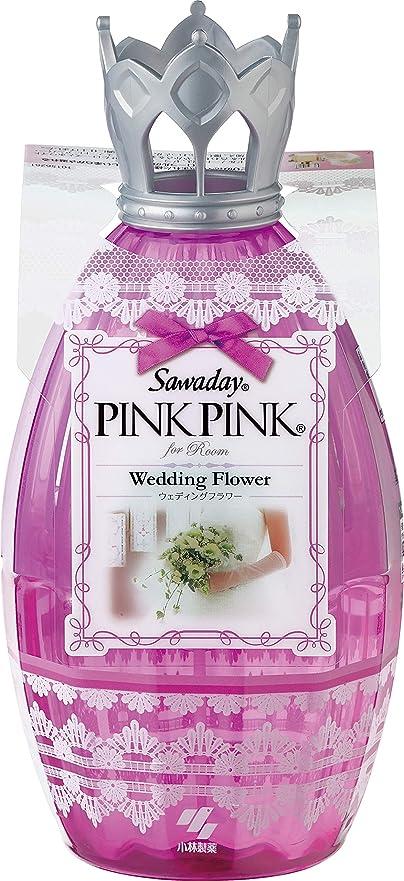 猫背スロット少数サワデーピンクピンク 消臭芳香剤 部屋用 本体 ウェディングフラワー 250ml