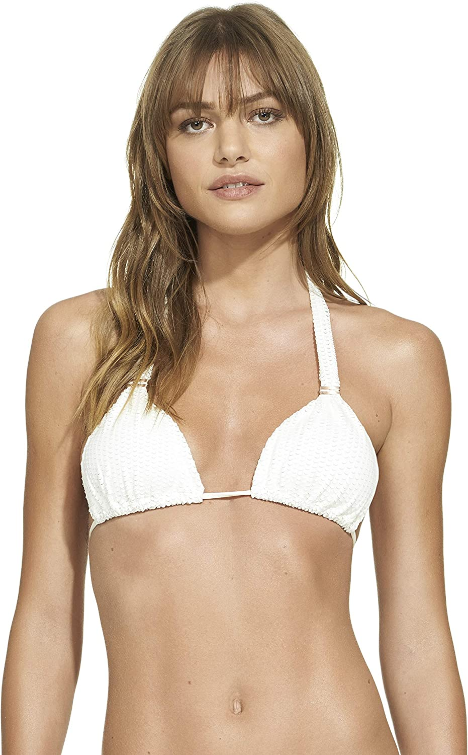ViX Women's Off White Bia Tube Top, Scales, DDCup