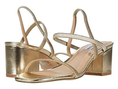 Steve Madden Inessa Heeled Sandal (Gold) Women