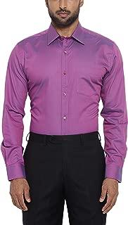 Park Avenue Full Sleeve Ainsley Collar Dark Violet Shirts