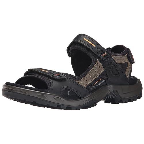 148d642f68a7 Men s Hook and Loop Sandals  Amazon.com