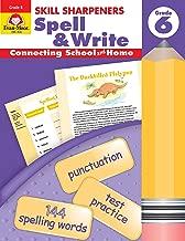 Skill Sharpeners Spell & Write, Grade 6