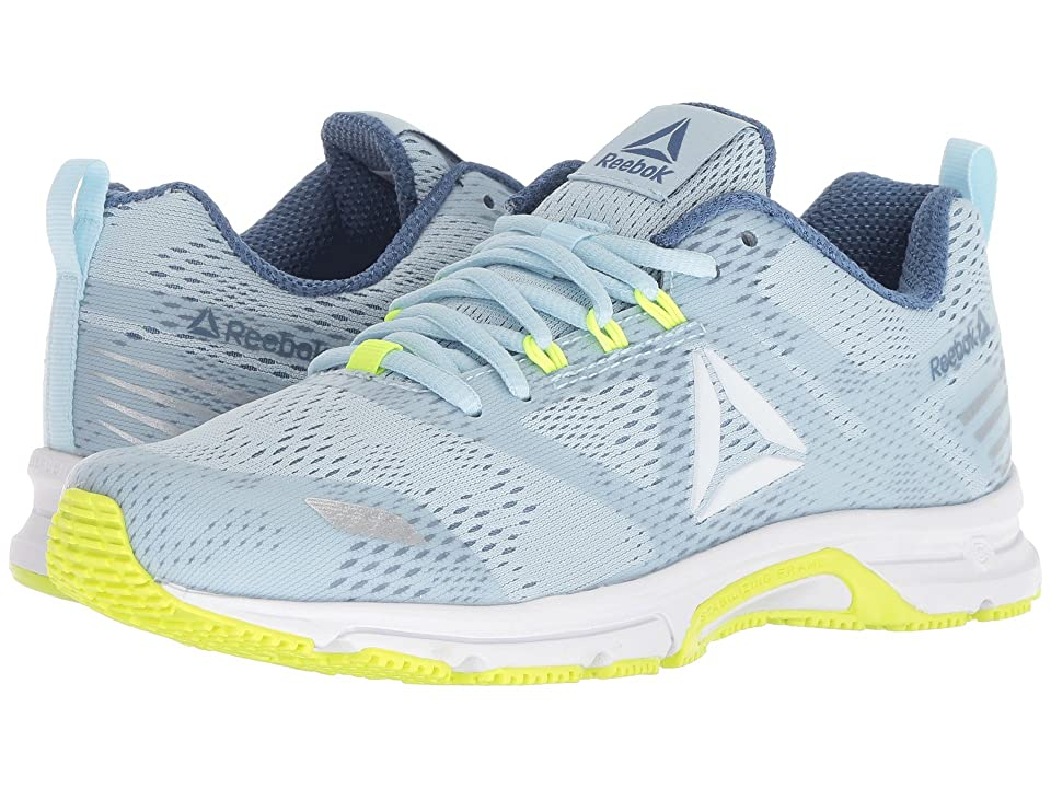 Reebok Ahary Runner (White/Blue Slate/Dreamy Blue/Solar Yellow) Women