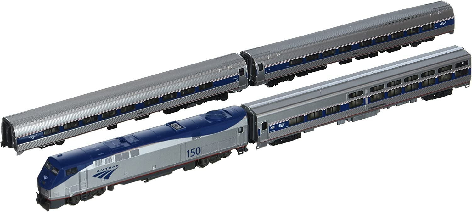 Kato USA Model Train Products P42, Amfleet and Viewliner Intercity Express Phase VI, 4-Unit Set