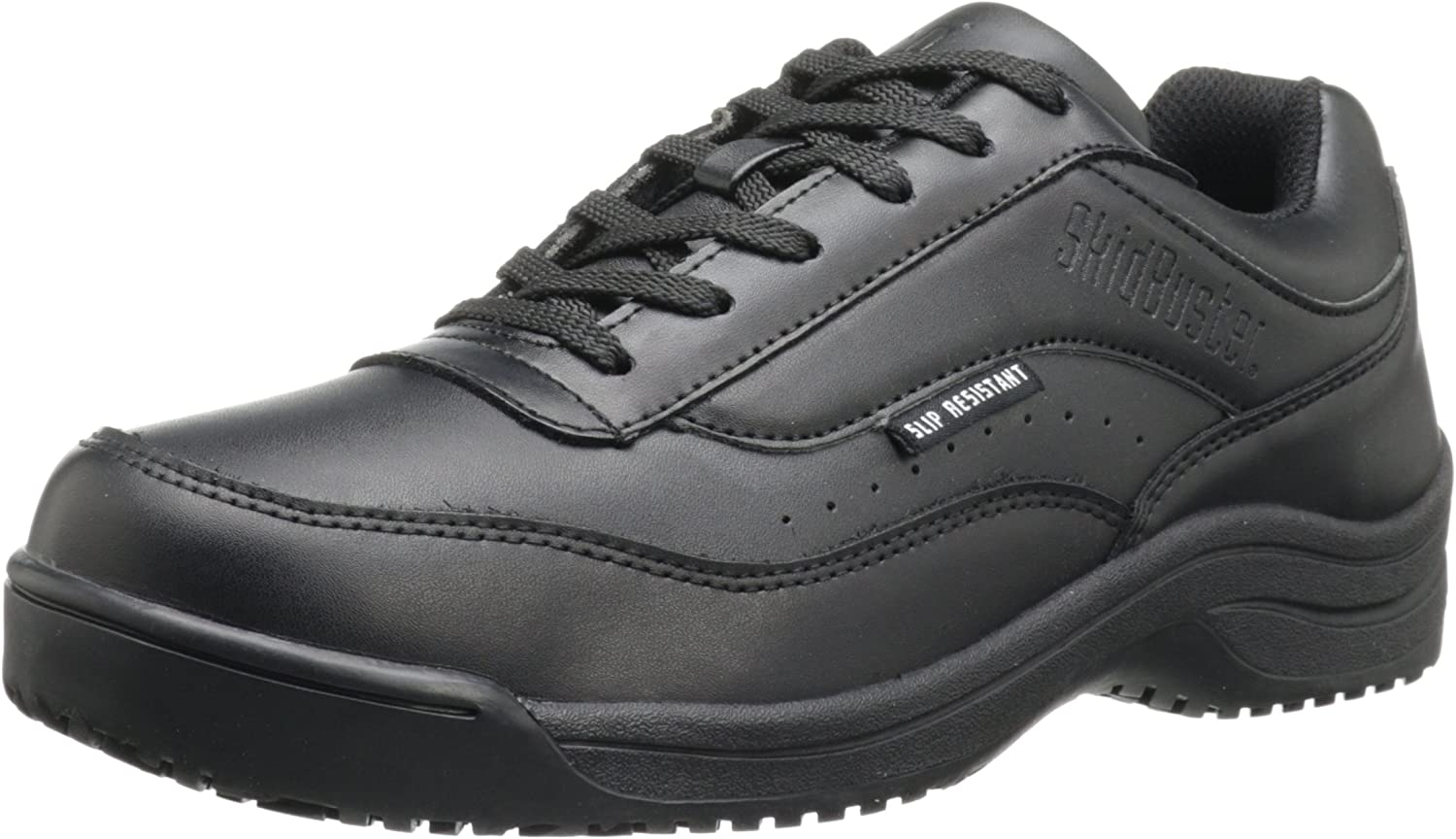 Skidbuster 5070 Men's New product type Leather Slip Shoe Max 56% OFF Resistant Athletic