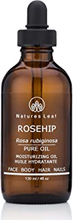 Rosehip Seed Oil Organic / 100% Pure Cold Pressed/Unrefined/Omegas 3, 6 & 9 / Vitamins A C & F/Anti-Aging/Stretch Marks/Wr...