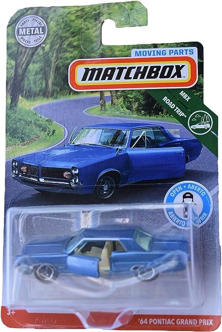 Amazon.com: Matchbox '64 Pontiac Grand Prix, Blue: Toys & Games