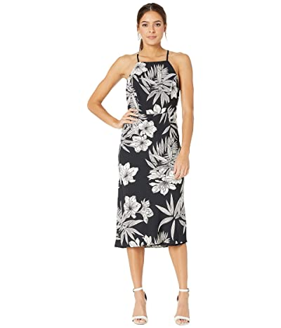 Bardot Halter Dress (Romeo Floral) Women