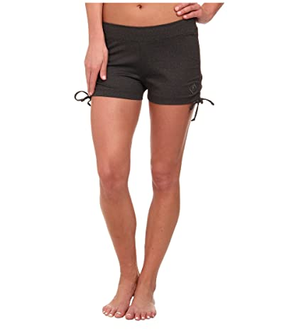 Stonewear Designs Hot Yoga Shorts (Heather Gray) Women