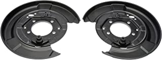 Dorman 924-373 Rear Brake Dust Shield for Select Lexus / Toyota Models, Black