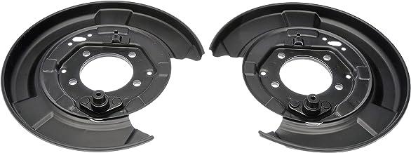 Dorman 924-373 Rear Brake Dust Shield for Select Lexus / Toyota Models, Black