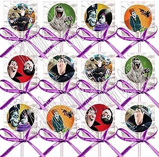 Hotel Transylvania Party Favors Decorations Movie Lollipops w/ Purple Ribbon Bows Party Favors -12