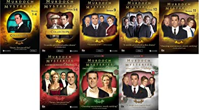 Murdoch Mysteries Ultimate Collection Seasons 1-11 + Movies