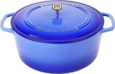 Marquette Castings 4 qt. Cast Iron Dutch Oven (Superior Blue)