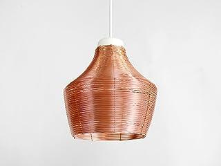 Lampada a Sospensione in Rame Intrecciato GRASSO - Copper Braided Pendant Lamp Fat - Olandese - Design - Rame - a mano - i...
