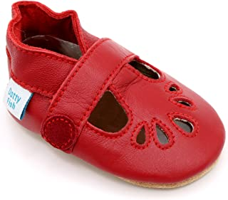 29975f047f6cf Amazon.co.uk: Red - Baby Girls / Baby Shoes: Shoes & Bags