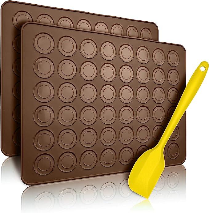 1174 opinioni per Belmalia 2x Stampi in Silicone Macarons per Perfetti Macaron   Stampo