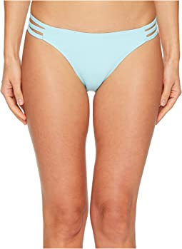 Letarte - Printed Medium Coverage Lattice Side Bottoms