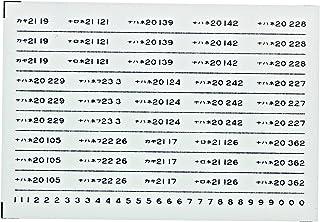 レボリューションファクトリーNゲージ20系車番インレタ3  RLF4335