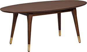 Elle Decor FUTB10061A Clemintine Coffee Table Walnut