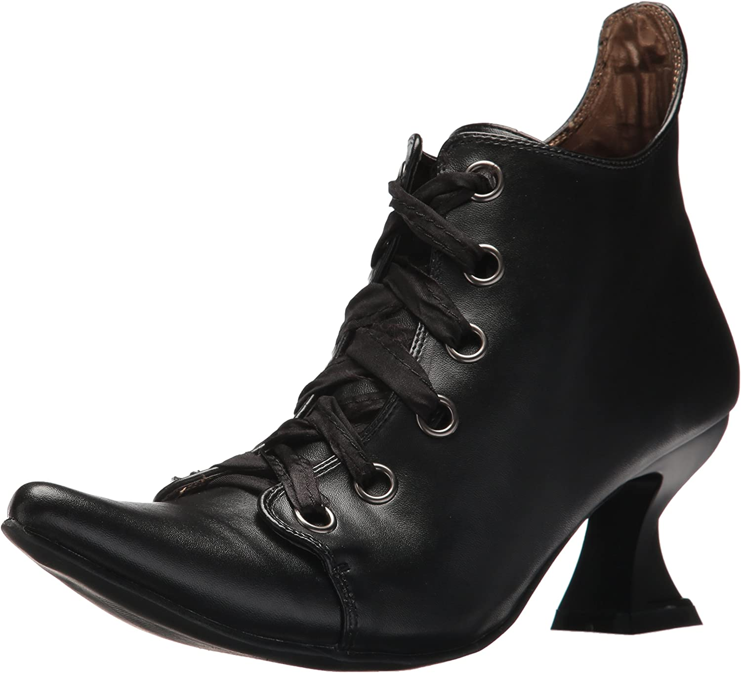 Womens Black Witch Costume Boots Size 8