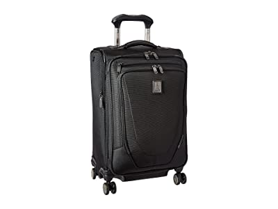 Travelpro Crew 11 21 Expandable Spinner Suiter (Black) Suiter Luggage