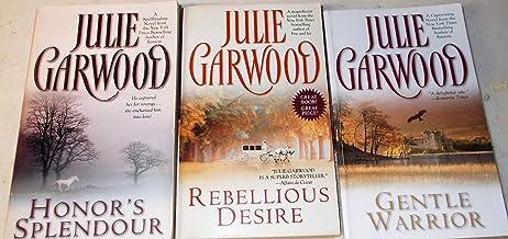 Julie Garwood: 3 Book Set: Softcover: Gentle Warrior: Rebellious Desire: Honor's Splendour: Very Good