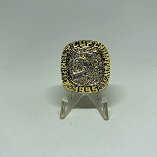 1995 Claude Lemieux New Jersey Devils High Quality Replica 1995 Stanley Cup Championship Ring Size 10.5-Gold Colored
