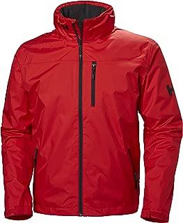 Helly Hansen Crew Hooded Midlayer Fleece Lined Waterproof Windproof Breathable Rain Coat Jacket