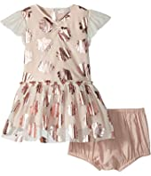 Stella McCartney Kids - Bellie Seashell Print Tulle Dress (Infant)