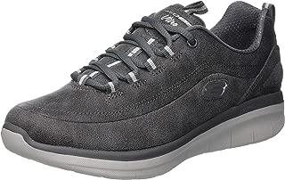 Skechers 斯凯奇 女士 Synergy 2.0 运动鞋 深棕色 灰色