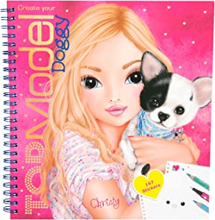 Top Model Topmodel - Create Your Doggy Colouring Book