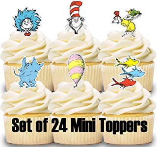 24 Mini Cupcake Toppers Storybook/Cake Decorations/Cupcake Picks/Desserts/Decorations