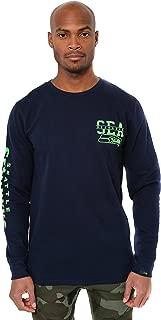 Ultra Game NFL Men's Fleece Reflective Long Sleeve Sweatshirt Shirt