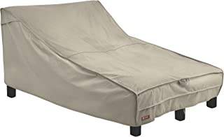 Classic Accessories Montlake FadeSafe Double Wide Patio Chaise Lounge Cover