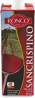 Vino rosso 11° Sancrispino brick 1L Cantine Ronco