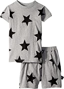 Nununu - Star Short Loungewear (Toddler/Little Kids)