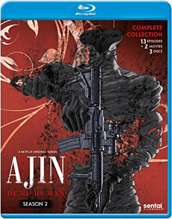 Ajin Demi-Human Season 2 Blu-Ray