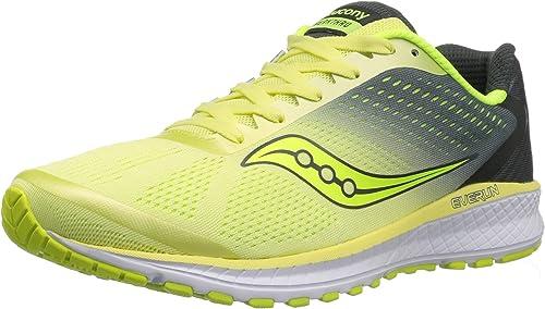 Saucony Wohommes Breakthru 4 FonctionneHommest chaussures, Lime gris, 7.5 Medium US
