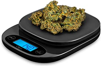 Ozeri ZK420 Garden and Kitchen Scale, with 0.5 g (0.01 oz) Precision Weighing Technology One Size Black