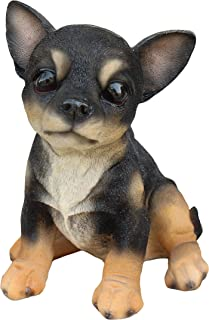 New PUPPY IN SHOE Figurine Statue PUG DOG Sculpture Figure Art Decor Sneaker Tan