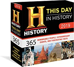2019 History Channel This Day in History Boxed Calendar: 365 Remarkable People, Extraordinary Events, and Fascinating Facts