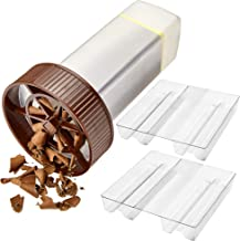 O'Creme - Chocolate Shaver - Rotary Hand Held Grater and Slicer Device to Make Professional Gourmet Quality Chocolate Shav...
