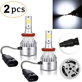 CK FORMULA H9 LED Headlight Bulb (High Beam) C6 All-in-One Conversion Kit, 72W 8500LM 6500K Cool White