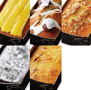 パッコビアンコ 人気パウンドケーキ5種類のセット(ガトーフィナンシェ、クラシックショコラ、ガトーバスク、スイートフロマージュ、マドレーヌマロン)